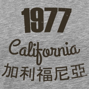 1977 california old - Men's Premium T-Shirt