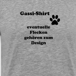 Gassi shirt - Premium T-skjorte for menn