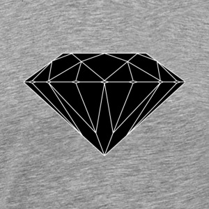 diamant - Premium T-skjorte for menn