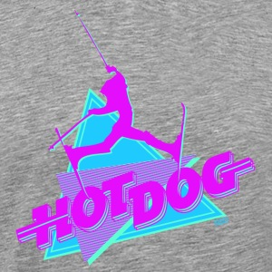 Hot Dog The Movie - Premium-T-shirt herr