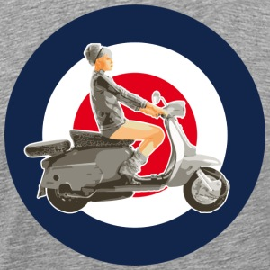 Girl scooter - Men's Premium T-Shirt