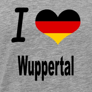 I Love Germany Home Wuppertal - Männer Premium T-Shirt