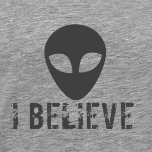 I believe logo - Men's Premium T-Shirt