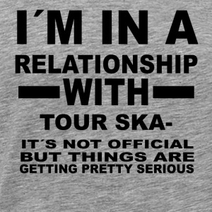 relationship with TOUR SKATING - Männer Premium T-Shirt