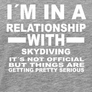 gift, gift, birthday SKYDIVING - Men's Premium T-Shirt