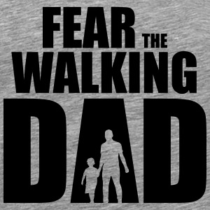 Vrees The Walking Dad - Mannen Premium T-shirt