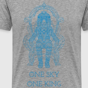 A heaven a king. - Men's Premium T-Shirt