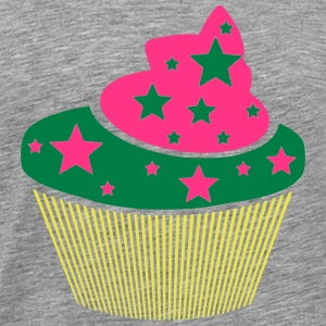 Muffin with asterisks (colors can be customized!) - Men's Premium T-Shirt