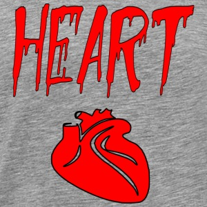 heart heart - Men's Premium T-Shirt