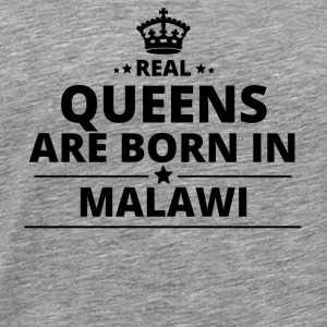 gift love queens are born MALAWI - Men's Premium T-Shirt