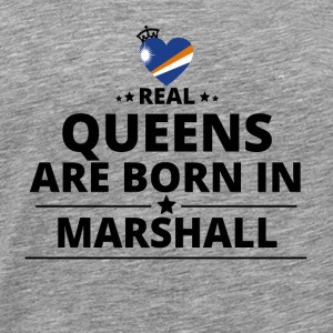 GESCHENK QUEENS LOVE FROM MARSHALL ISLANDS - Männer Premium T-Shirt