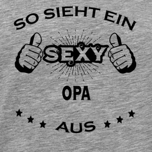 Sexy birthday sportjob OPA - Men's Premium T-Shirt
