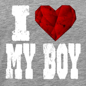 i love my boy - Men's Premium T-Shirt