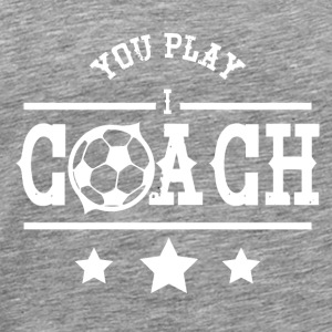 Fussball Coach Club Baseball Basketball Trainer - Männer Premium T-Shirt