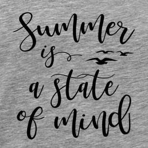 De zomer is een state of mind - Mannen Premium T-shirt