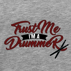 Drummer Trommer sticks Drums band tromle - Herre premium T-shirt