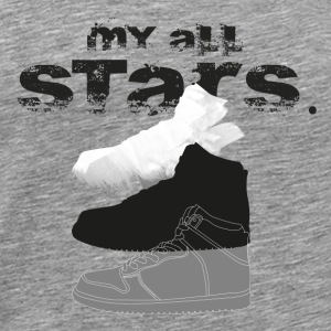 My Basketball Sneaker - Men's Premium T-Shirt