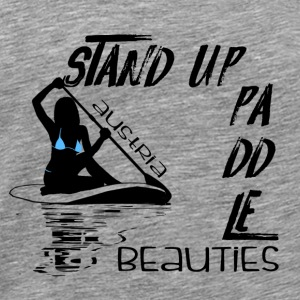 Stand Up Paddle Beauties 2 Autriche noir - T-shirt Premium Homme