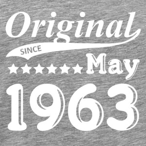 Original Since May 1963 gift - Men's Premium T-Shirt
