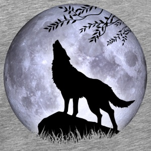 Wolf Full Moon Halloween Nightmare Nightmare - Men's Premium T-Shirt