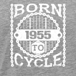 born cycle mountainbike gift birthday 1955 - Men's Premium T-Shirt