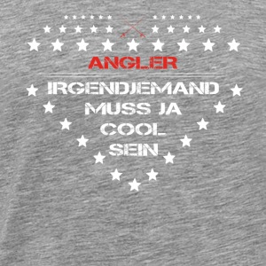 gift sexy must be cool angel angler - Men's Premium T-Shirt