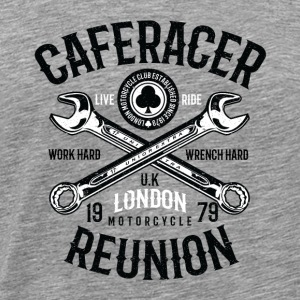 Caferacer Reunion. Motorcycle 1979 Shirt - Men's Premium T-Shirt
