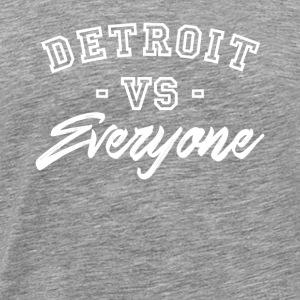 Detroit vs alla Trendy - Premium-T-shirt herr