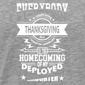 Statonous Daughter Patriot Military Thanksgiving - Men's Premium T-Shirt