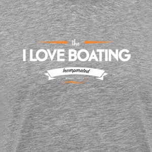boating_logo_1 - Premium-T-shirt herr