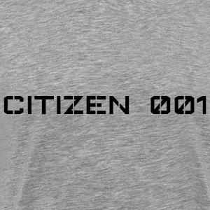 CITIZEN 001 - Herre premium T-shirt