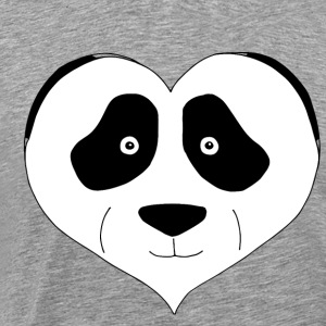 Heart Panda - Men's Premium T-Shirt