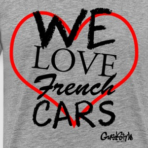 #welovefrenchcars by GusiStyle - Männer Premium T-Shirt