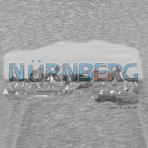 Nuremberg from favorite region (skyline) - Men's Premium T-Shirt