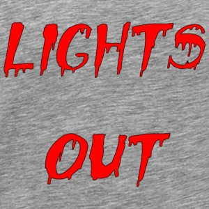 lights out - Men's Premium T-Shirt