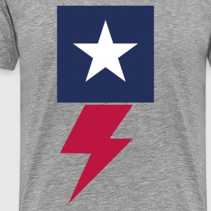 Flash American - Mannen Premium T-shirt