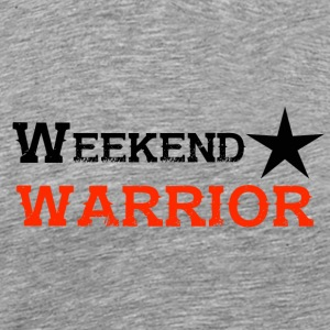 Paita Weekend Warrior Weekend Party - Miesten premium t-paita