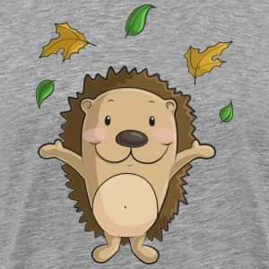 Hedgehog comic - Men's Premium T-Shirt