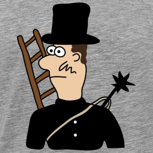 Chimney Sweep | Skorsten heldig charme held - Herre premium T-shirt