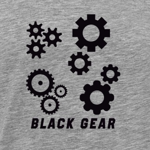 Black gear - Men's Premium T-Shirt
