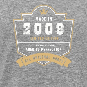 Made In 2009 Limitierte Auflage Alle Originalteile - Männer Premium T-Shirt