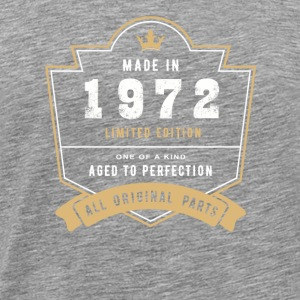 Made in 1972 Limitierte Auflage Alle Originalteile - Männer Premium T-Shirt