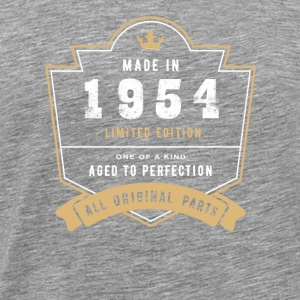 Made in 1954 Limitierte Auflage Alle Originalteile - Männer Premium T-Shirt
