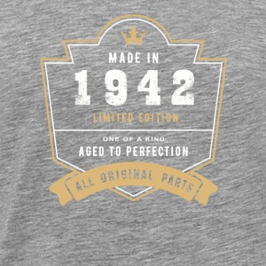 Made In 1942 Limitierte Auflage Alle Originalteile - Männer Premium T-Shirt