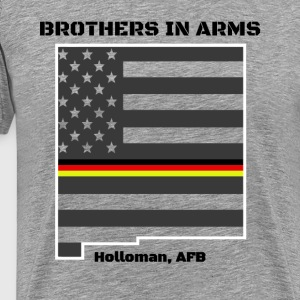 Brothers in Arms German Air Force in New Mexico - Men's Premium T-Shirt