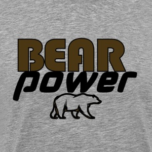 bearpower - Herre premium T-shirt