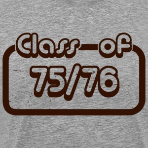 Class of 1975 1976 - Men's Premium T-Shirt