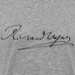 Richard Wagner signature - T-shirt Premium Homme