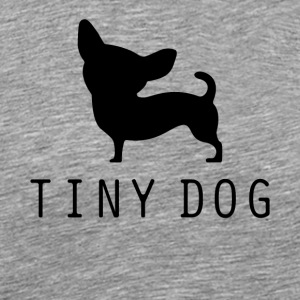Tiny Dog - Mannen Premium T-shirt
