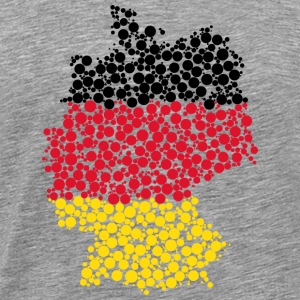 Germany map - Men's Premium T-Shirt